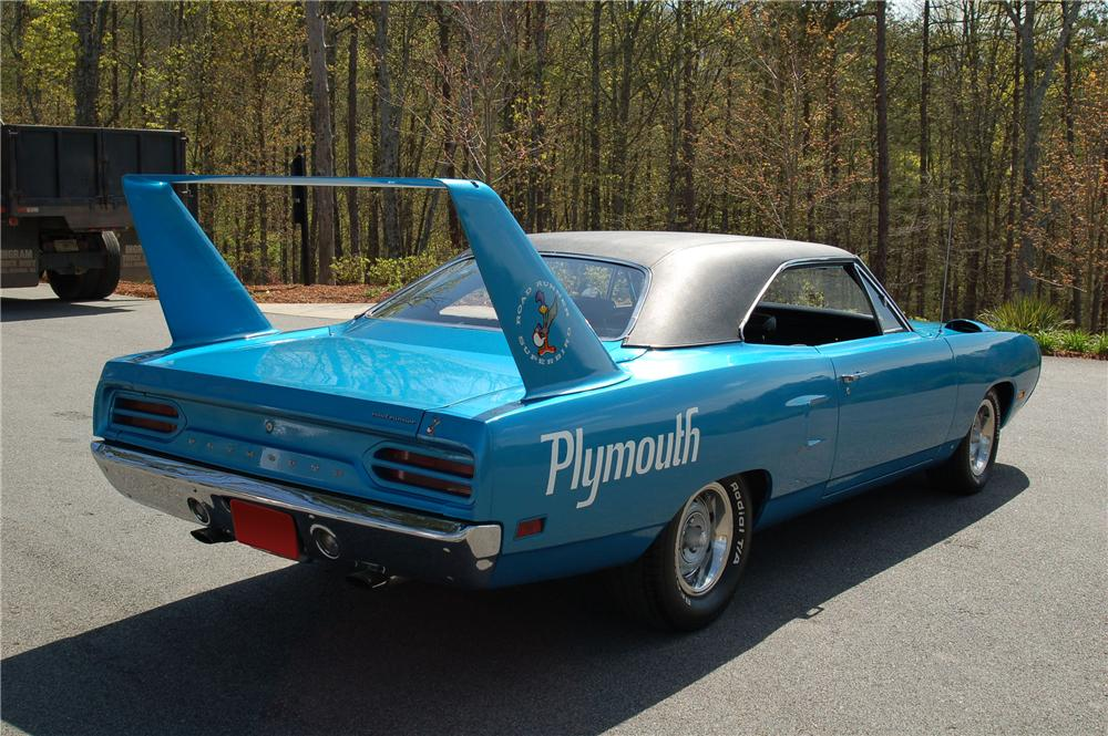 1970 PLYMOUTH SUPERBIRD 2 DOOR COUPE - Rear 3/4 - 96157