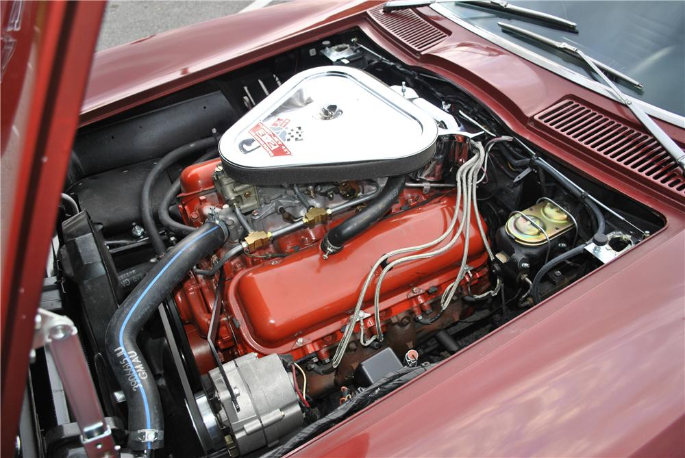 1967 CHEVROLET CORVETTE CONVERTIBLE - Engine - 96174