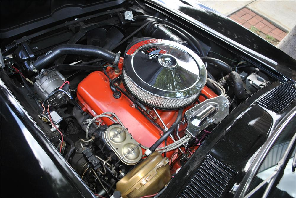 1967 CHEVROLET CORVETTE CONVERTIBLE - Engine - 96179