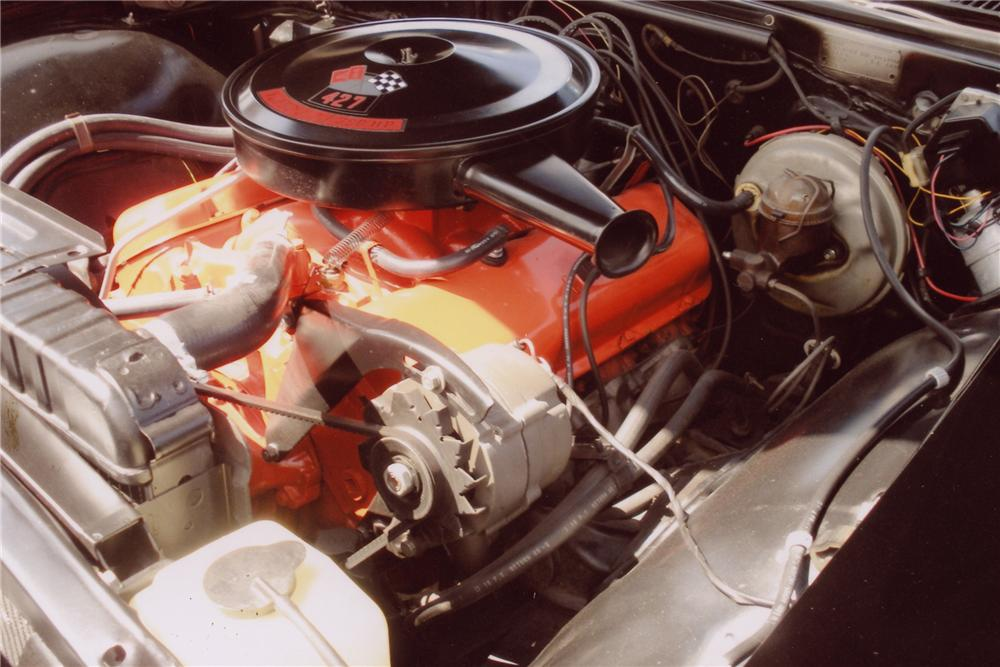 1966 CHEVROLET IMPALA SS CONVERTIBLE - Engine - 96182