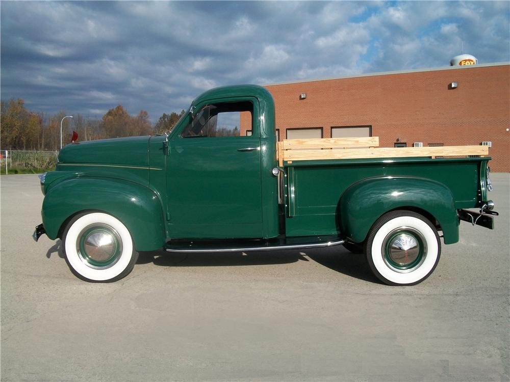 1947 STUDEBAKER PICKUP TRUCK - Side Profile - 96186