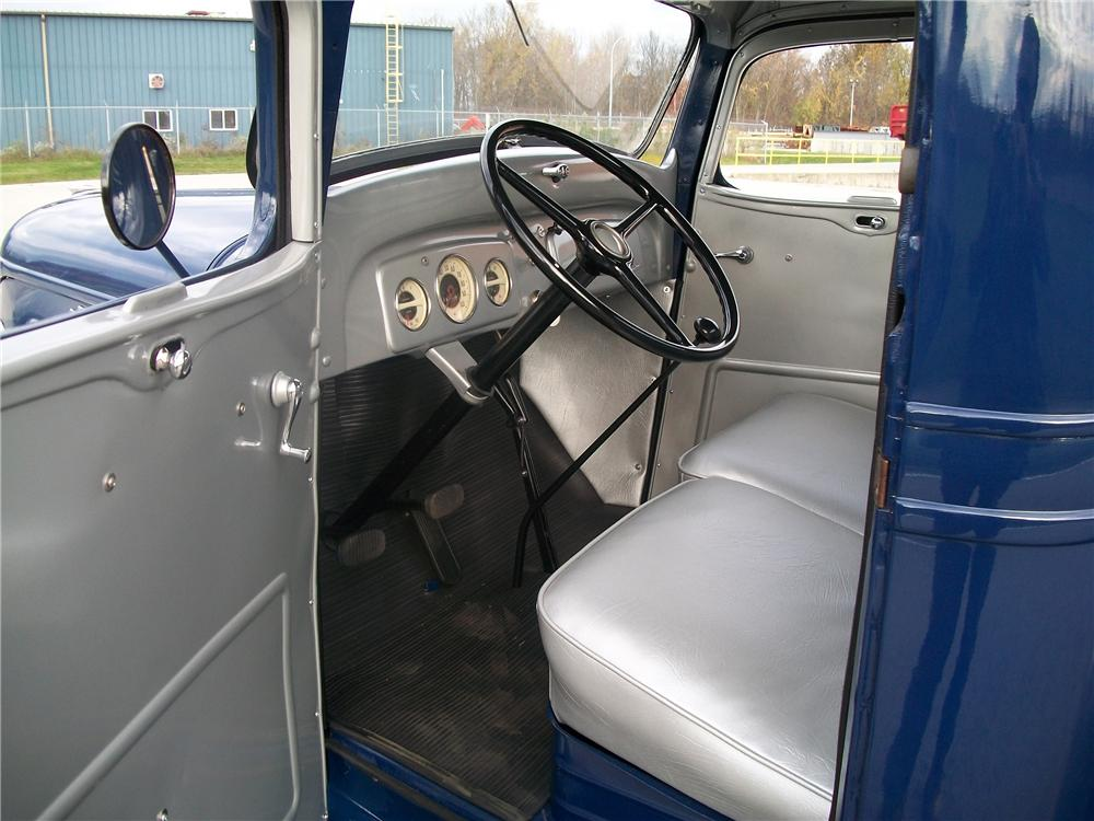 1937 CHEVROLET STEP-SIDE PICKUP - Interior - 96188