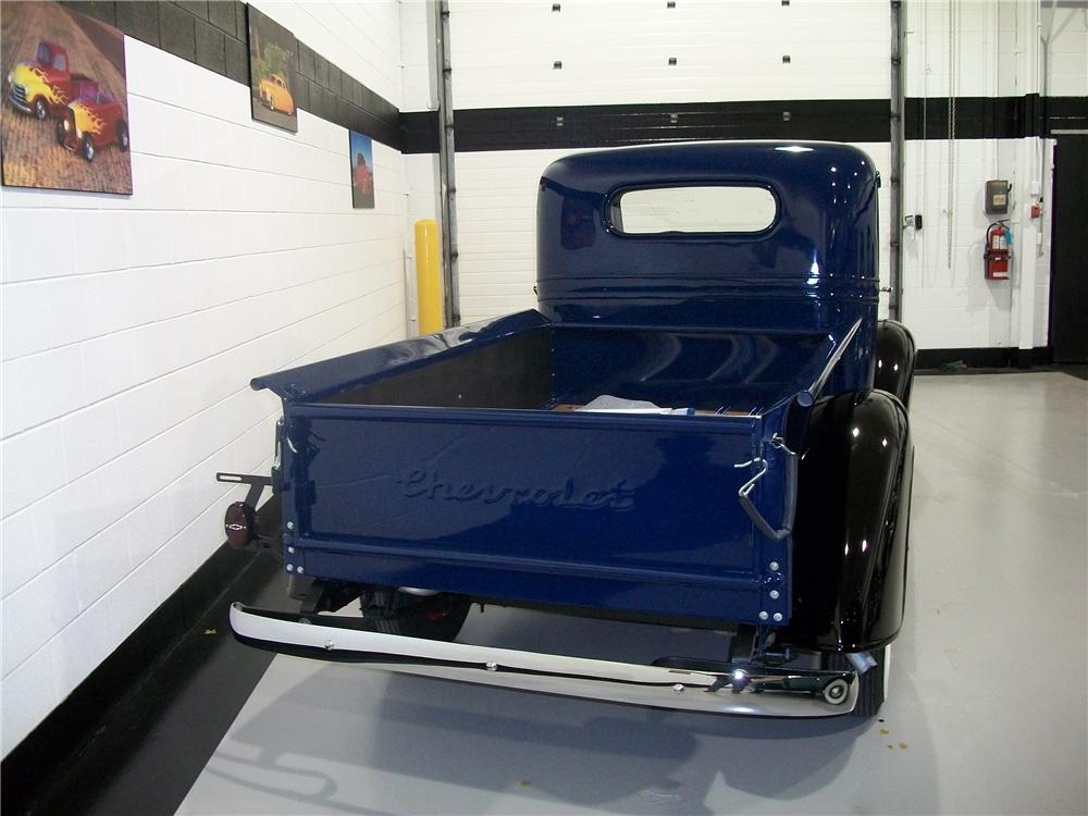 1937 CHEVROLET STEP-SIDE PICKUP - Rear 3/4 - 96188