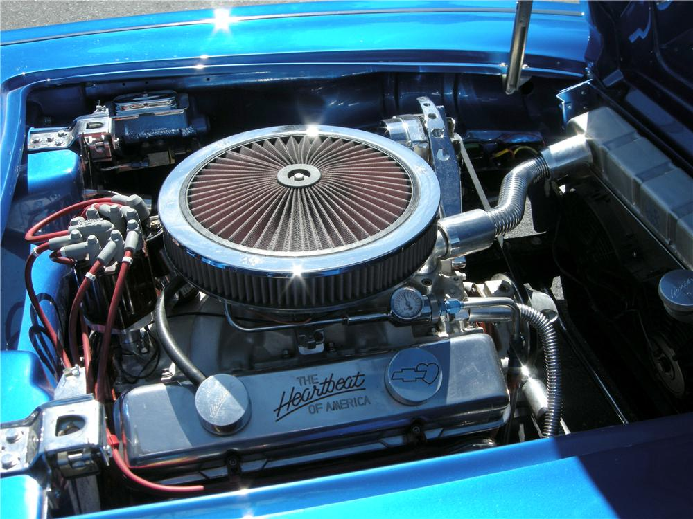 1959 CHEVROLET CORVETTE CUSTOM CONVERTIBLE - Engine - 96189