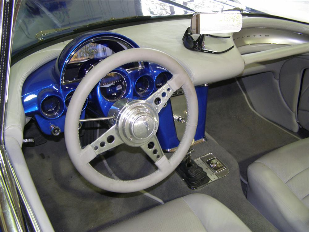 1959 CHEVROLET CORVETTE CUSTOM CONVERTIBLE - Interior - 96189