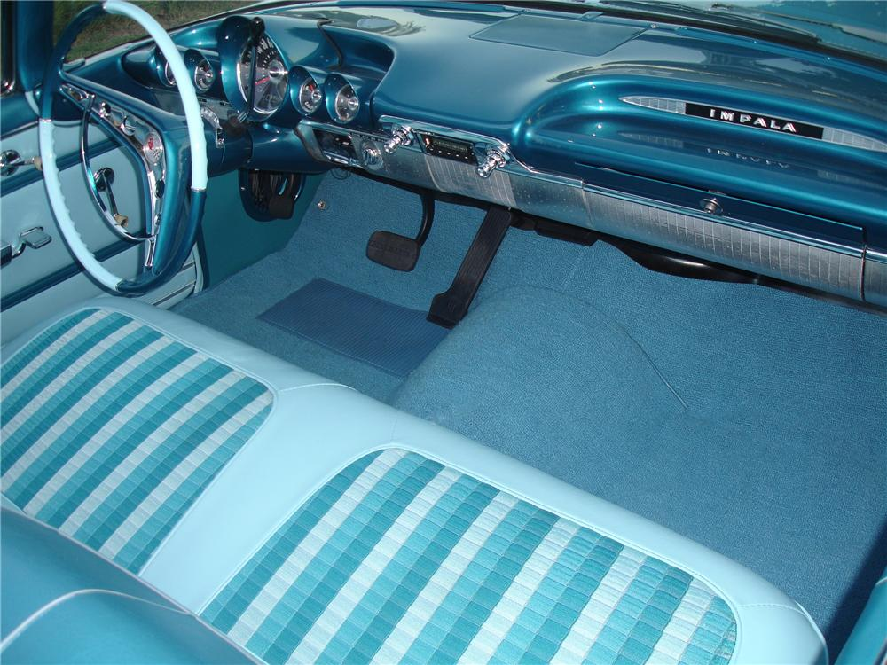 1959 CHEVROLET IMPALA CUSTOM CONVERTIBLE - 96190