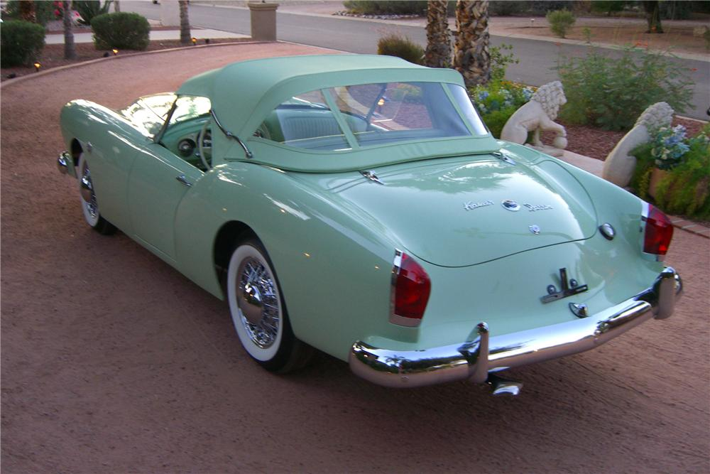 1954 KAISER DARRIN CONVERTIBLE - Rear 3/4 - 96200