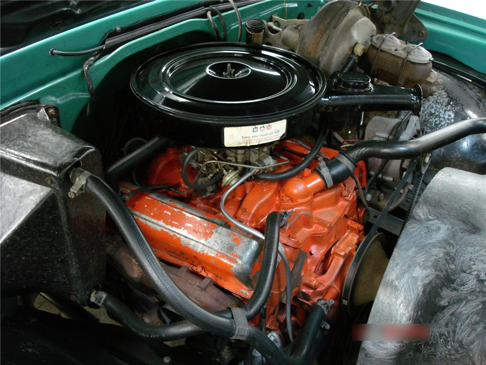 1971 CHEVROLET K-20 4X4 PICKUP - Engine - 96202