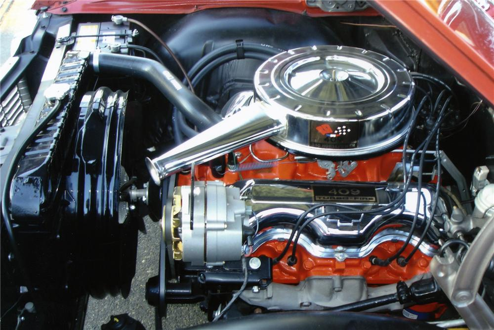 1964 CHEVROLET IMPALA SS 409 2 DOOR - Engine - 96205