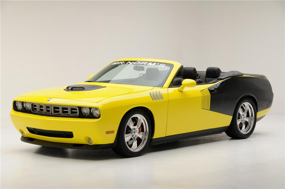 2009 DODGE CHALLENGER CUSTOM CONVERTIBLE - Front 3/4 - 96209