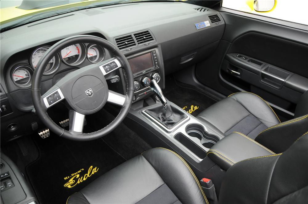 2009 DODGE CHALLENGER CUSTOM CONVERTIBLE - Interior - 96209