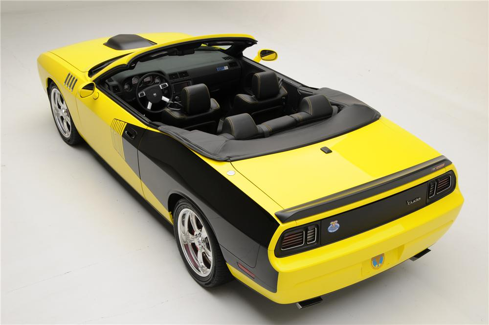2009 DODGE CHALLENGER CUSTOM CONVERTIBLE - Rear 3/4 - 96209
