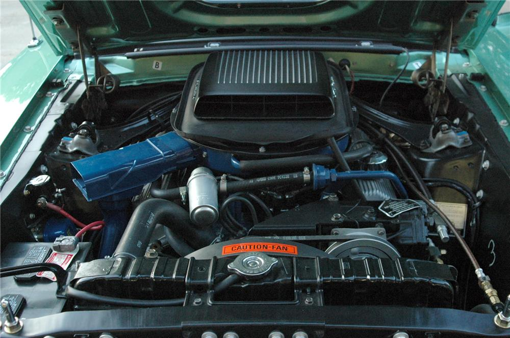 1969 FORD MUSTANG MACH 1 428 CJ COUPE - Engine - 96211