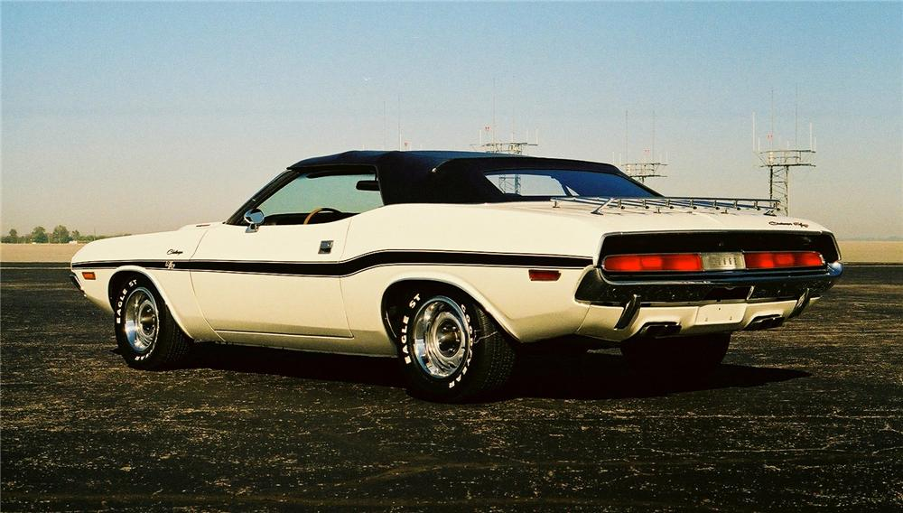 1970 dodge challenger r t 2 door convertible 96214. Black Bedroom Furniture Sets. Home Design Ideas