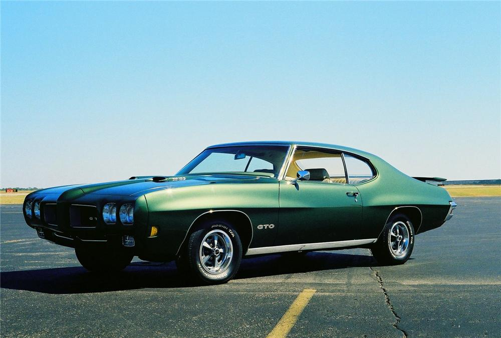1970 PONTIAC GTO 2 DOOR COUPE - Front 3/4 - 96215