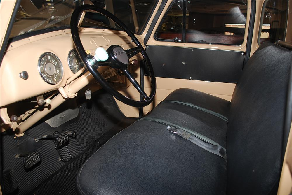1953 CHEVROLET 3100 PICKUP - Interior - 96222