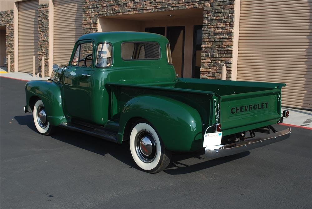 1953 CHEVROLET 3100 PICKUP - Rear 3/4 - 96222