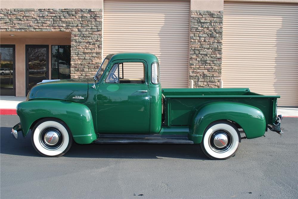 1953 CHEVROLET 3100 PICKUP - Side Profile - 96222