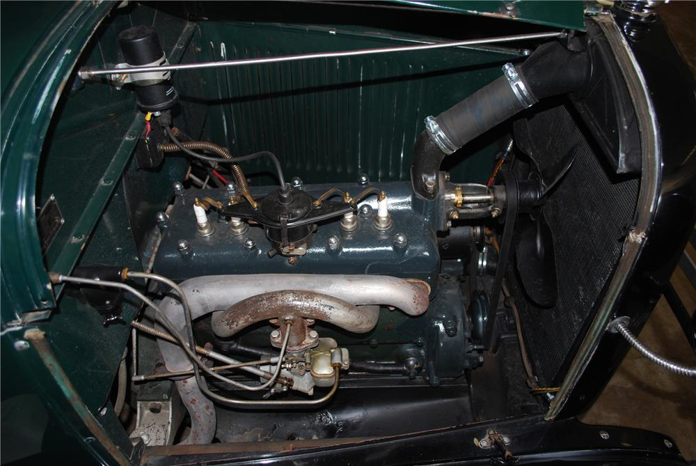 1929 FORD MODEL A ROADSTER PICKUP - Engine - 96223