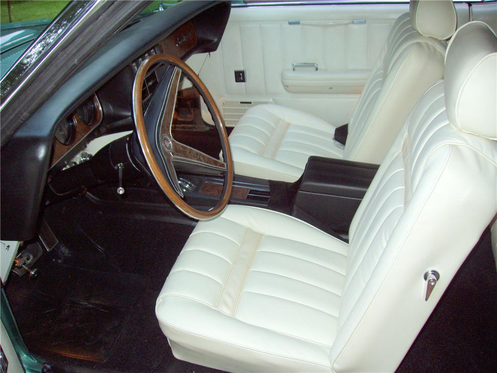 1969 MERCURY COUGAR XR7 CONVERTIBLE - Interior - 96224