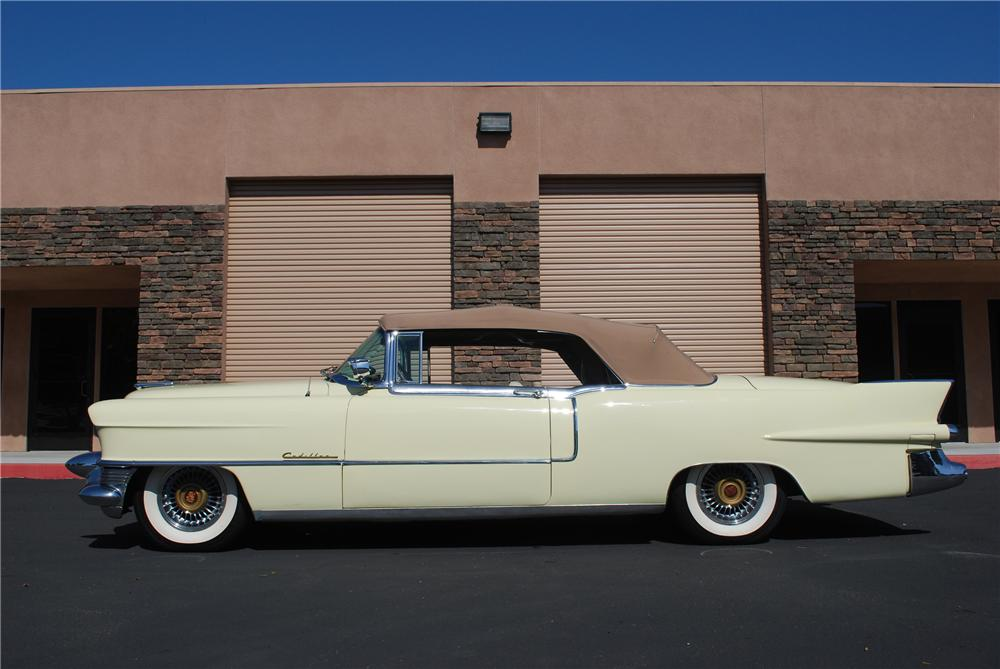 1955 CADILLAC ELDORADO CONVERTIBLE - Side Profile - 96230