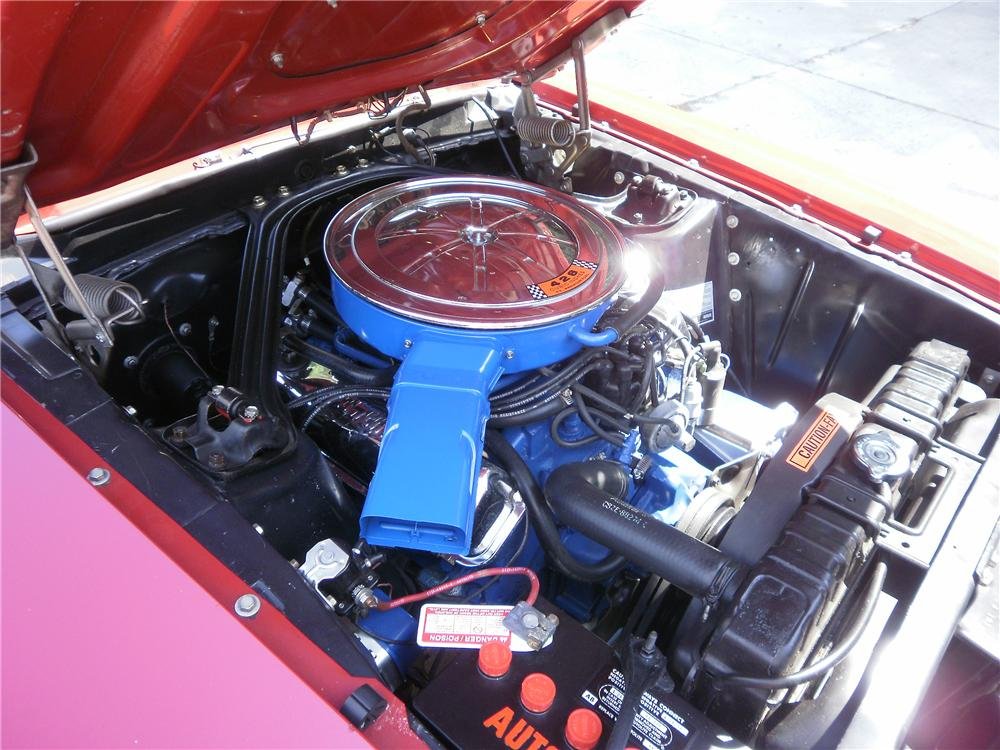 1969 FORD MUSTANG CONVERTIBLE - Engine - 96244