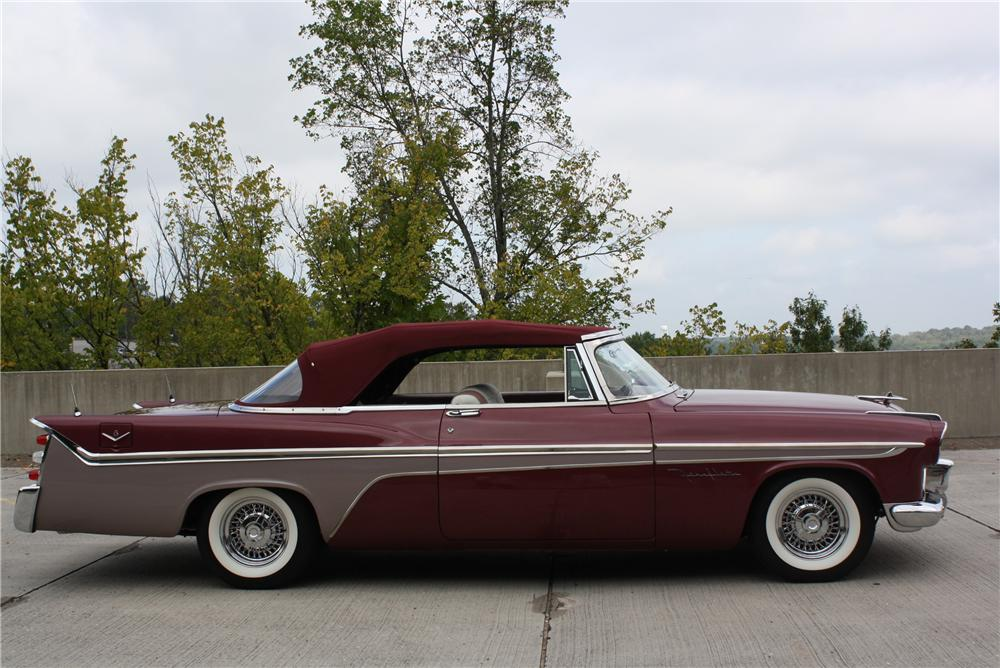 1956 DE SOTO FIREFLITE CONVERTIBLE - Side Profile - 96246