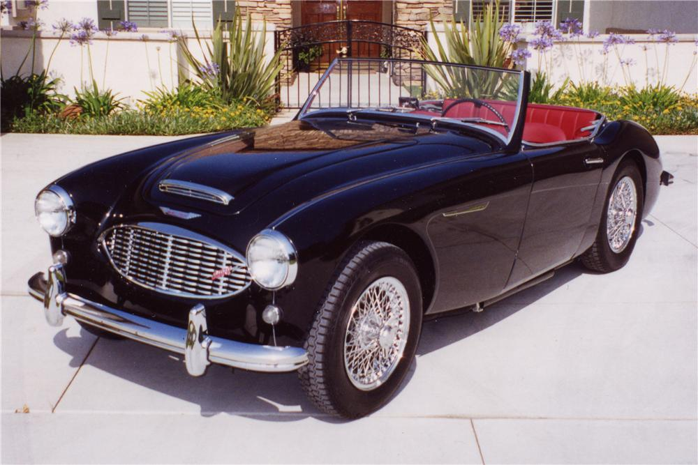 1960 AUSTIN-HEALEY 3000 MARK I BT7 ROADSTER - Front 3/4 - 96247