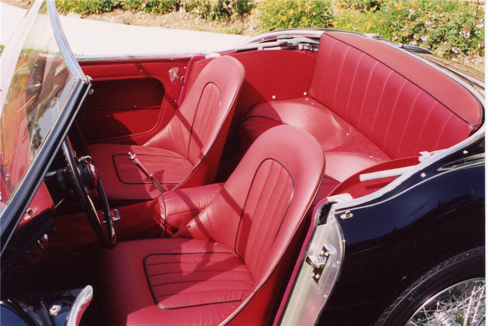1960 AUSTIN-HEALEY 3000 MARK I BT7 ROADSTER - Interior - 96247
