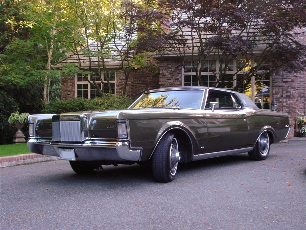 1969 Lincoln Continental Mark Iii 2 Door Hardtop