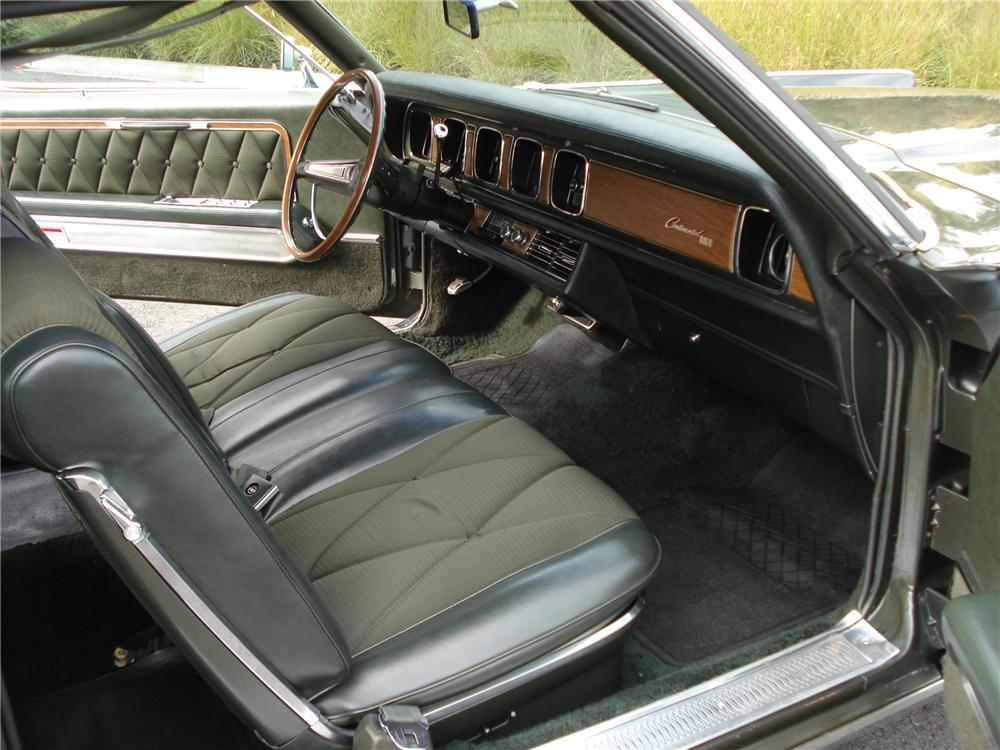 1969 LINCOLN CONTINENTAL MARK III 2 DOOR HARDTOP - Interior - 96249