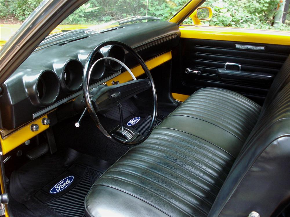1969 FORD RANCHERO PICKUP - Interior - 96251