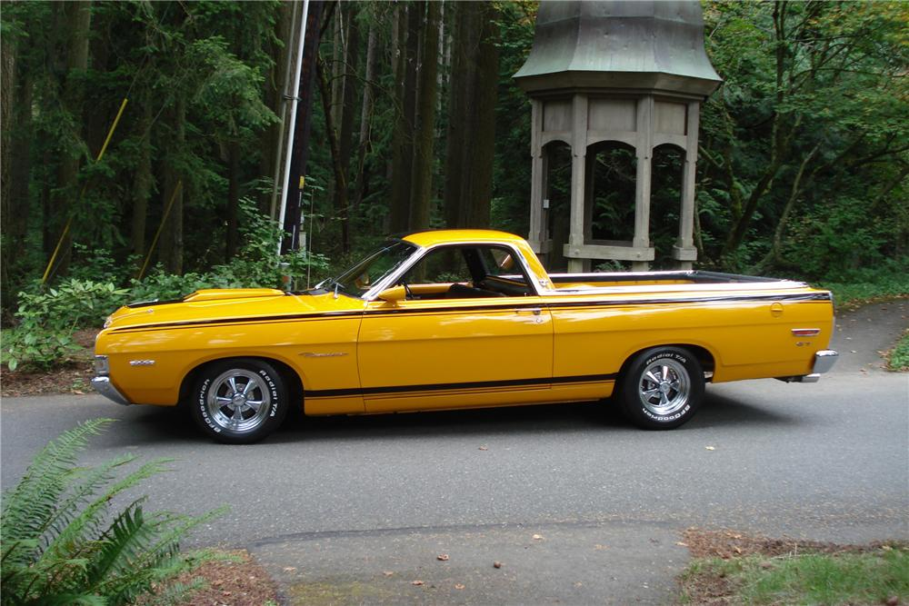 1969 FORD RANCHERO PICKUP - Side Profile - 96251