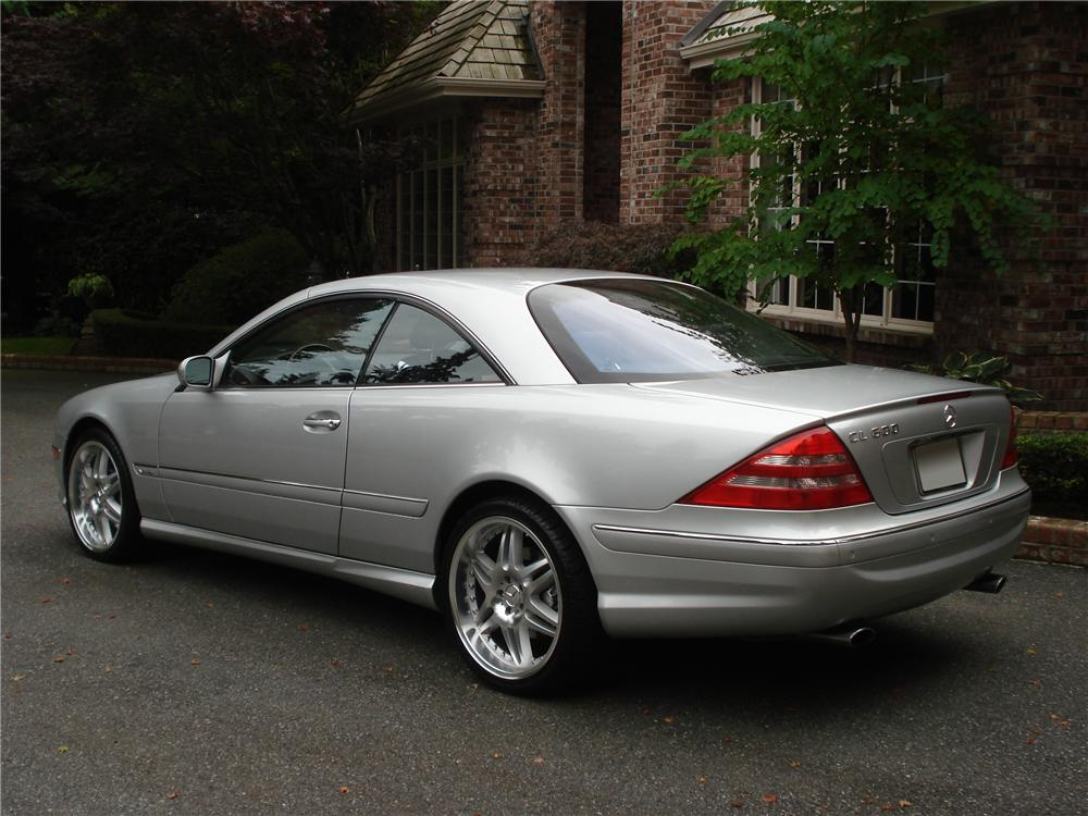 2002 mercedes benz cl600 2 door coupe 96254 for Mercedes benz cl600 price