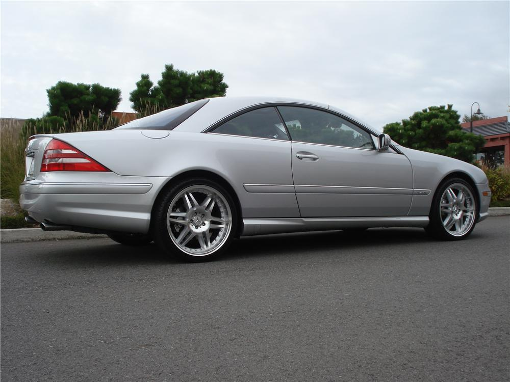 2002 MERCEDES-BENZ CL600 2 DOOR COUPE - Side Profile - 96254