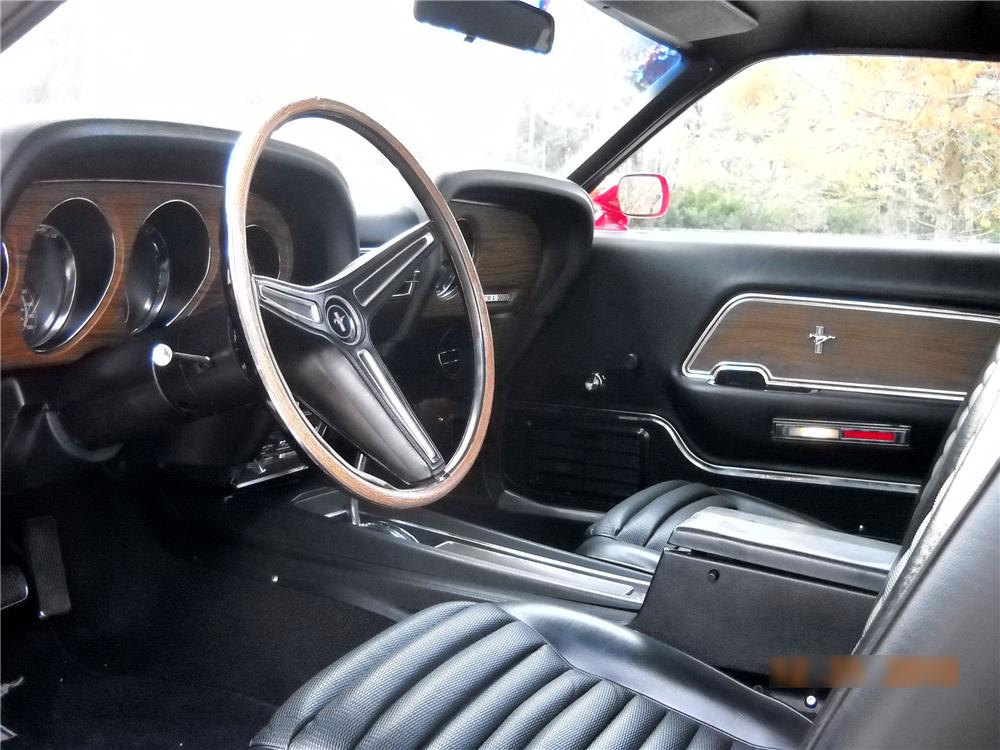 1970 FORD MUSTANG MACH 1 FASTBACK - Interior - 96255