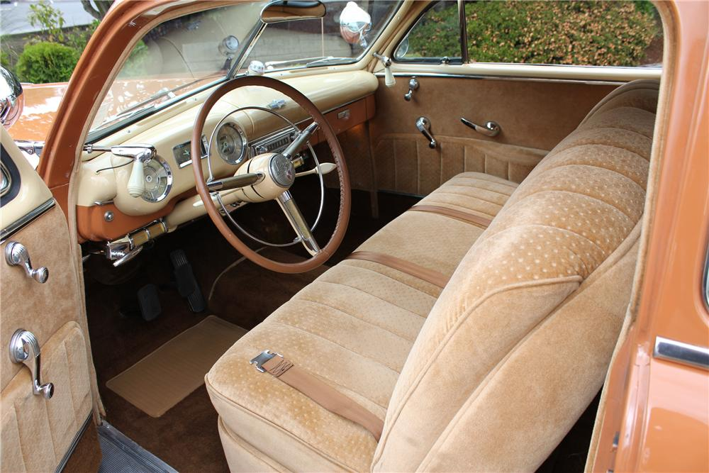 1949 LINCOLN 2 DOOR COUPE - Interior - 96256