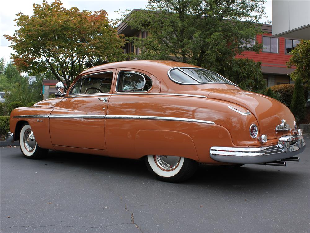 1949 LINCOLN 2 DOOR COUPE - Rear 3/4 - 96256