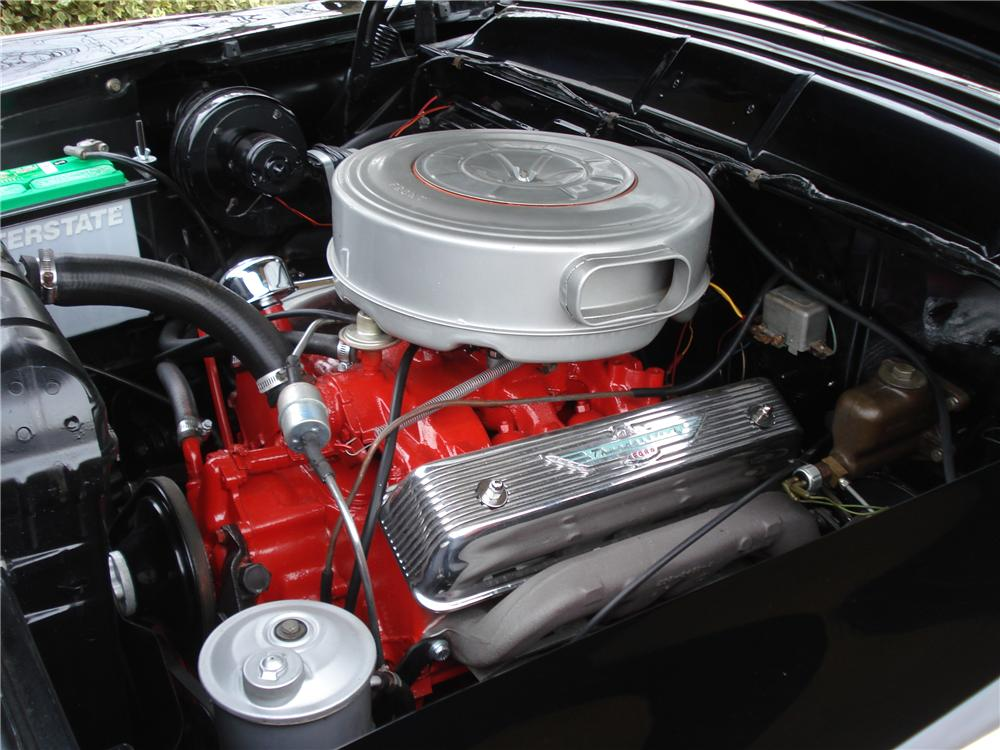 1956 FORD FAIRLANE SUNLINER CONVERTIBLE - Engine - 96259