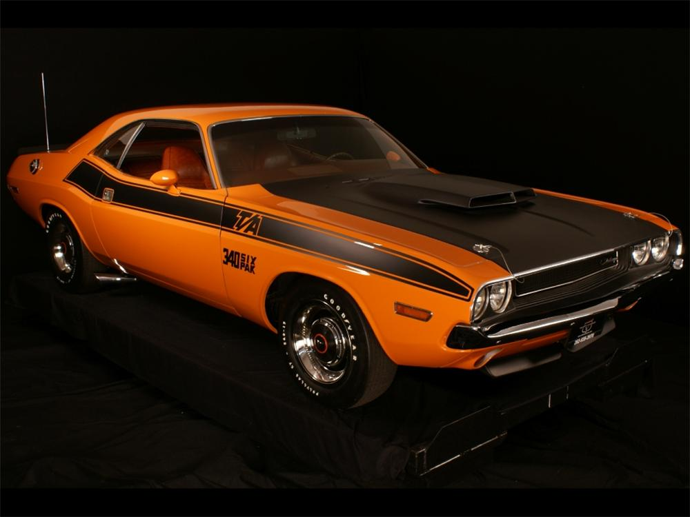 1970 DODGE CHALLENGER T/A 2 DOOR COUPE - Front 3/4 - 96267
