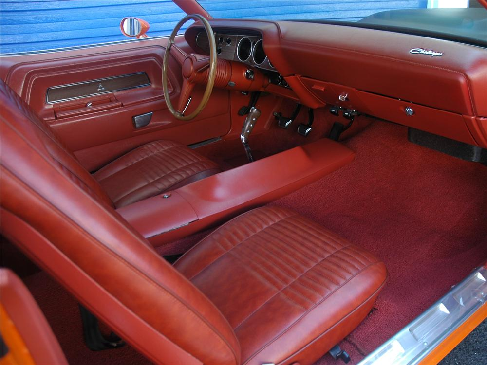 1970 DODGE CHALLENGER T/A 2 DOOR COUPE - Interior - 96267