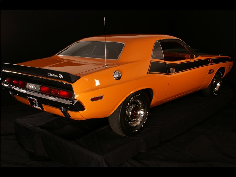 1970 DODGE CHALLENGER T/A 2 DOOR COUPE - Rear 3/4 - 96267