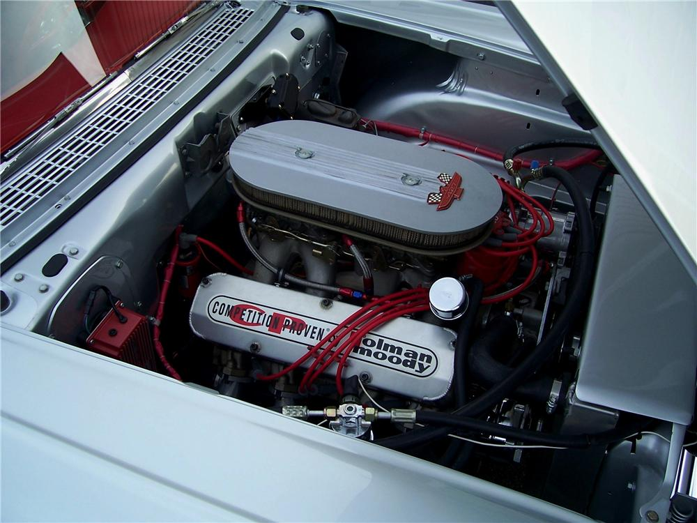 1957 FORD FAIRLANE CUSTOM 2 DOOR SEDAN - Engine - 96283