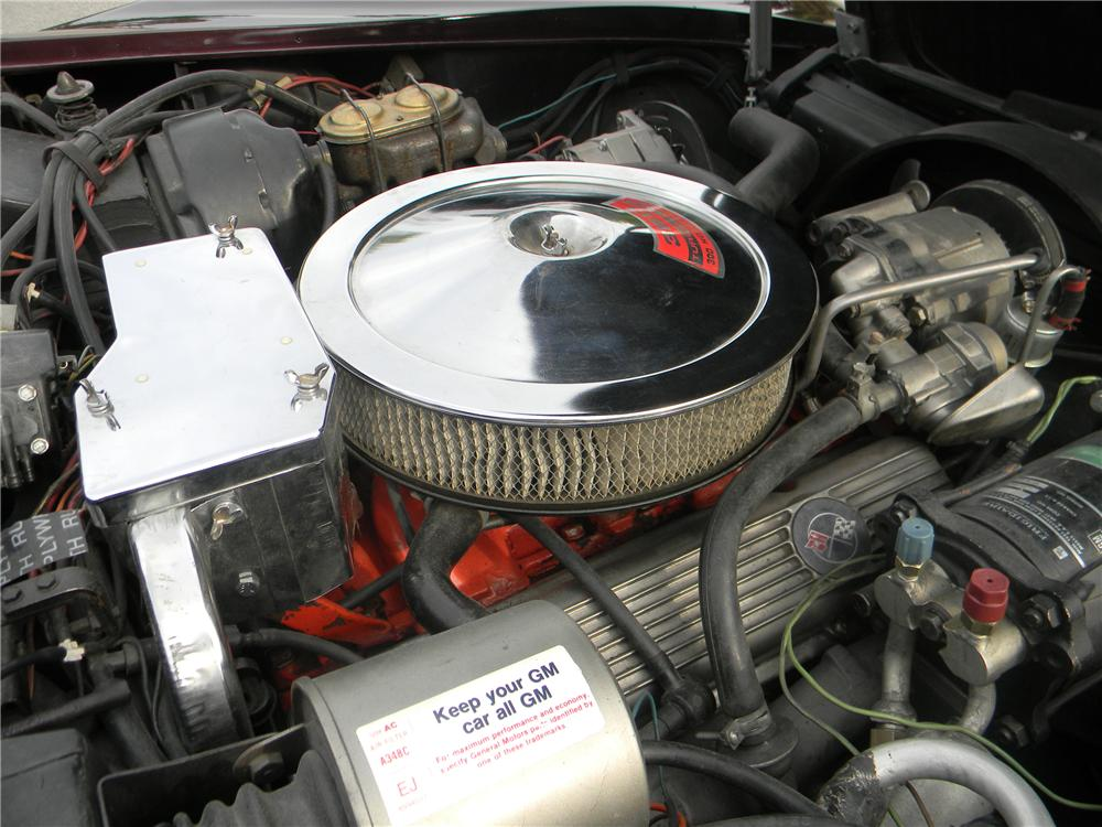 1969 CHEVROLET CORVETTE COUPE - Engine - 96286