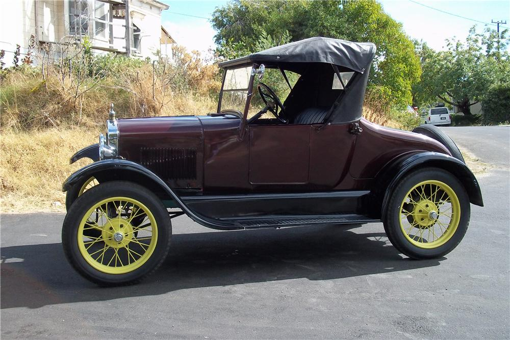 1927 FORD MODEL T ROADSTER - Side Profile - 96293
