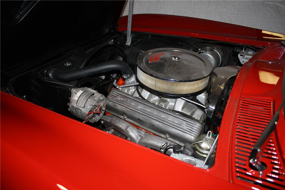 1965 CHEVROLET CORVETTE CONVERTIBLE - Engine - 96304