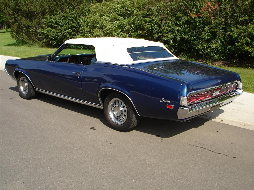 1969 Mercury Cougar Convertible 96306