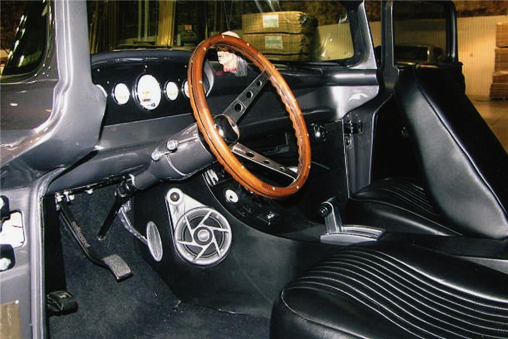 1957 FORD DELIVERY CUSTOM VAN - Interior - 96307