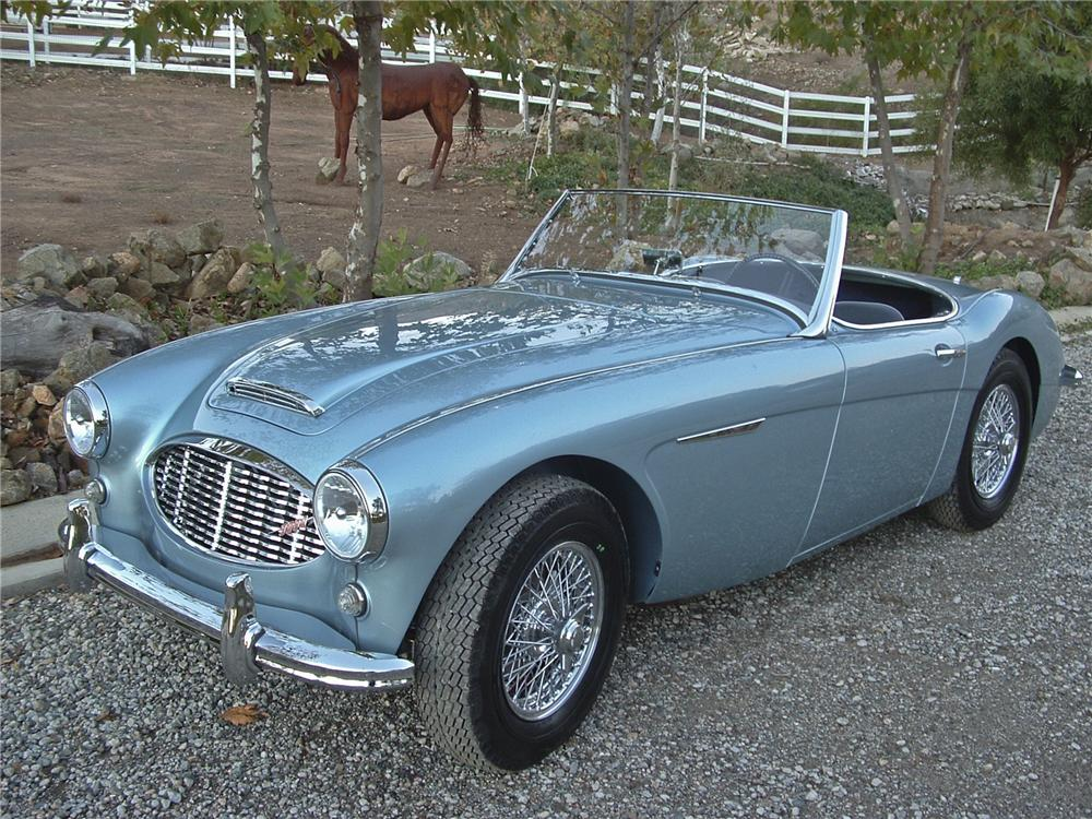 1960 AUSTIN-HEALEY 100-6 BN6 ROADSTER - Front 3/4 - 96310