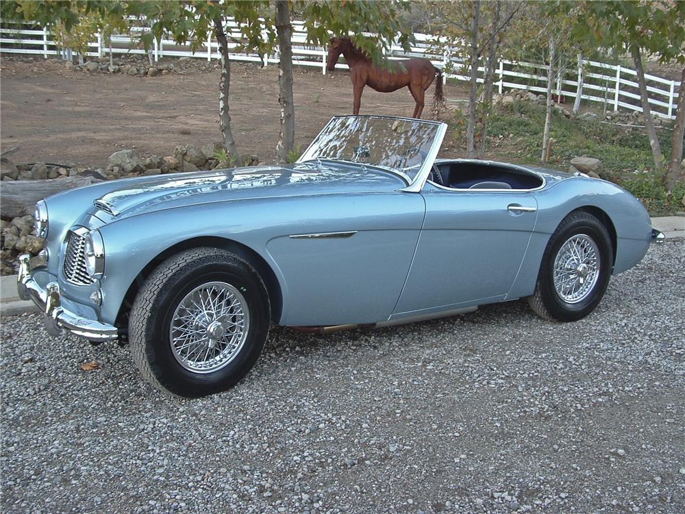 1960 AUSTIN-HEALEY 100-6 BN6 ROADSTER - Side Profile - 96310